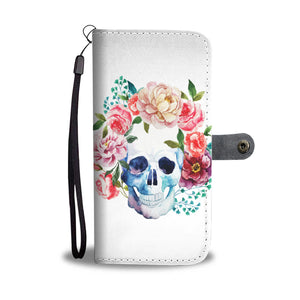 Skull Garland Phone Wallet - Hello Moa