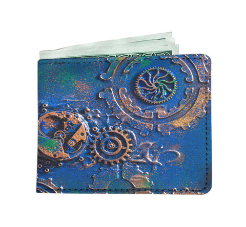 Image of Blue Rust Mens Wallet