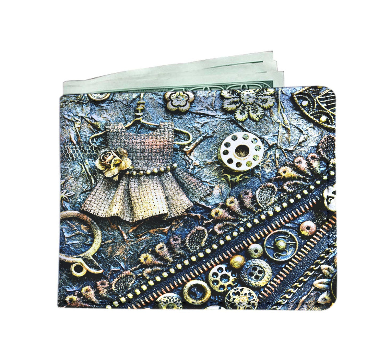 Bobbin Mens Wallet - Hello Moa