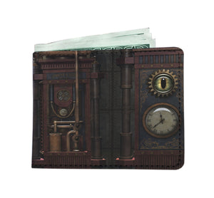 Eye Clock Men's Wallet - Hello Moa