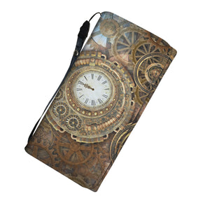 Clock & Cogs Purse