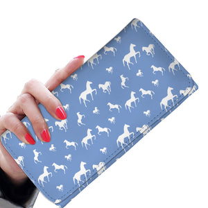 Blue Horse Purse - Hello Moa