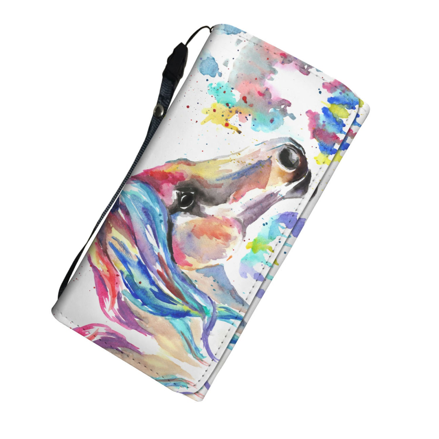 Watercolor Horse Purse - Hello Moa