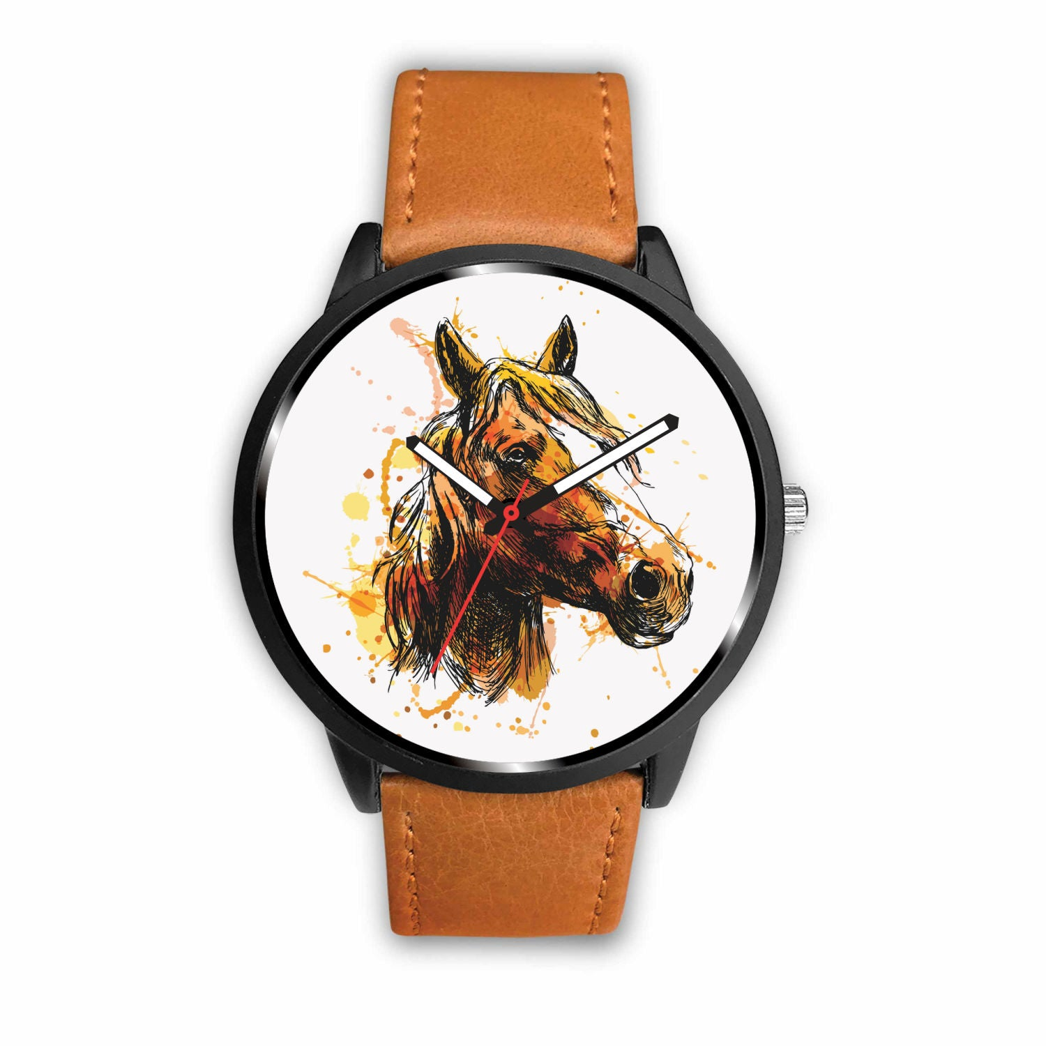 Brown Horse Watch - Hello Moa