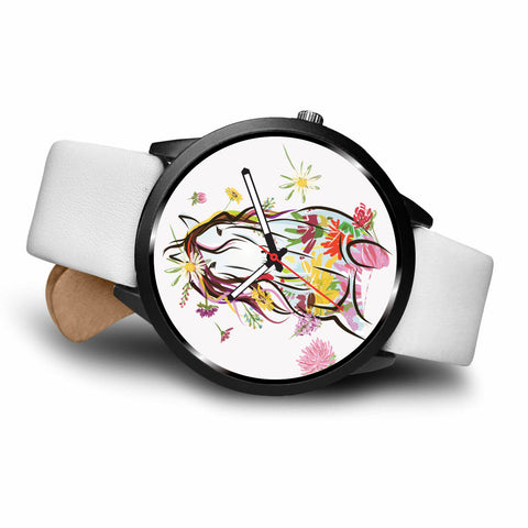 Image of Floral Horse Watch