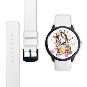 Floral Horse Watch