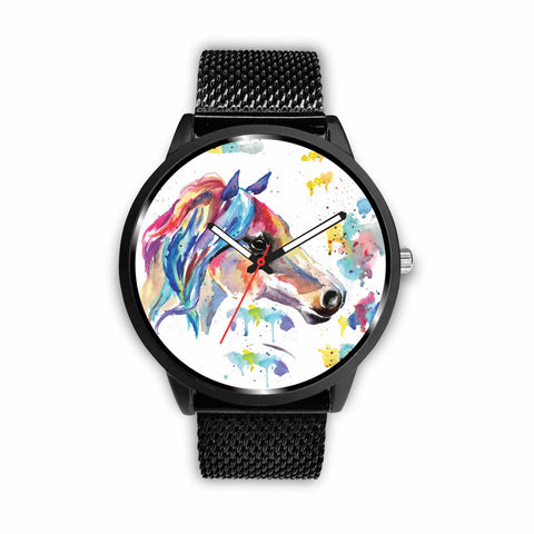 Watercolor Horse Watch