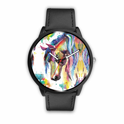 Watercolor II Horse Watch