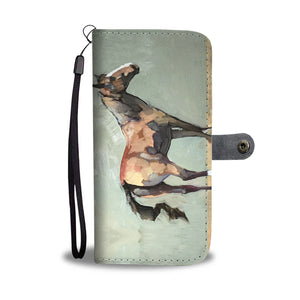 Painted Horse Phone Wallet