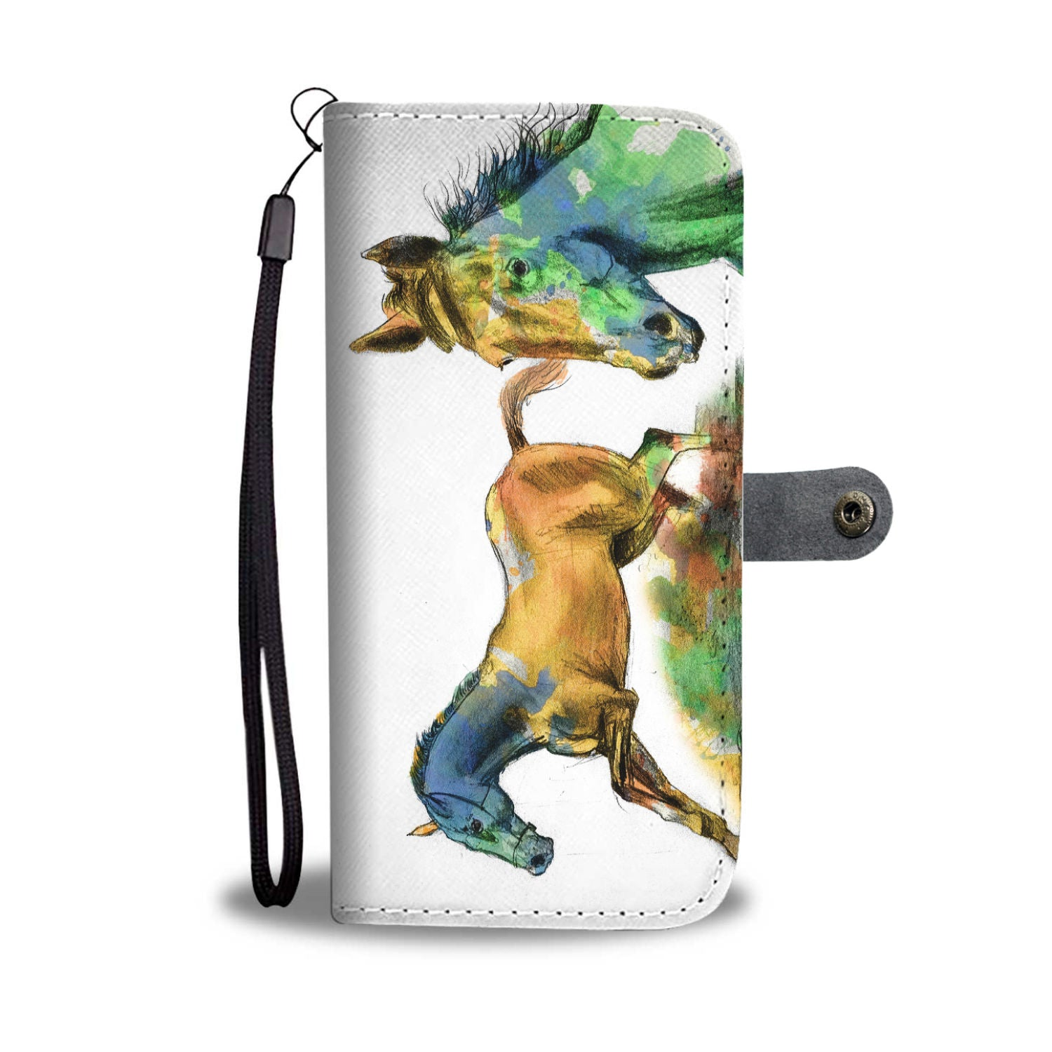 Artistic Horse Phone Wallet