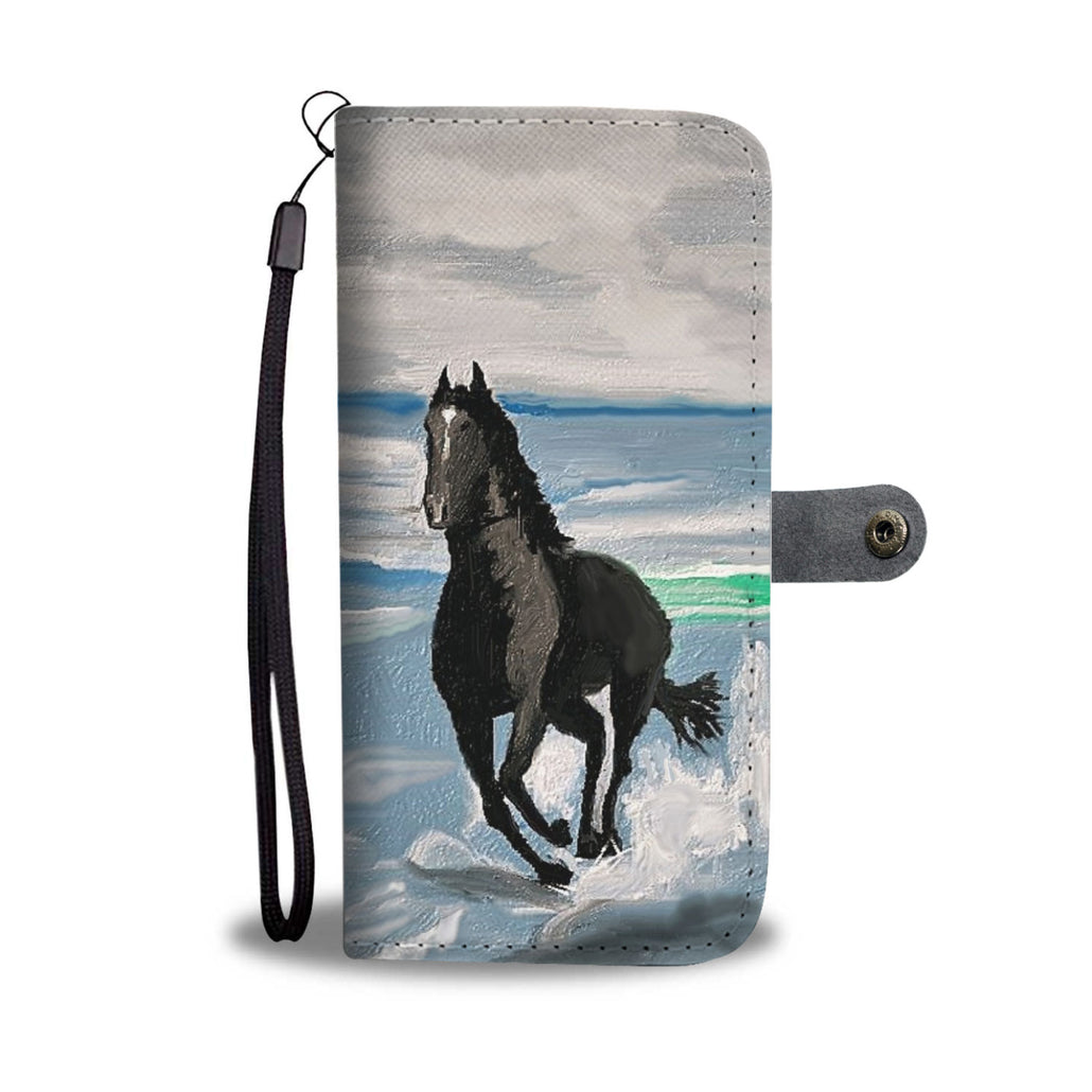 Seascape Horse Phone Wallet