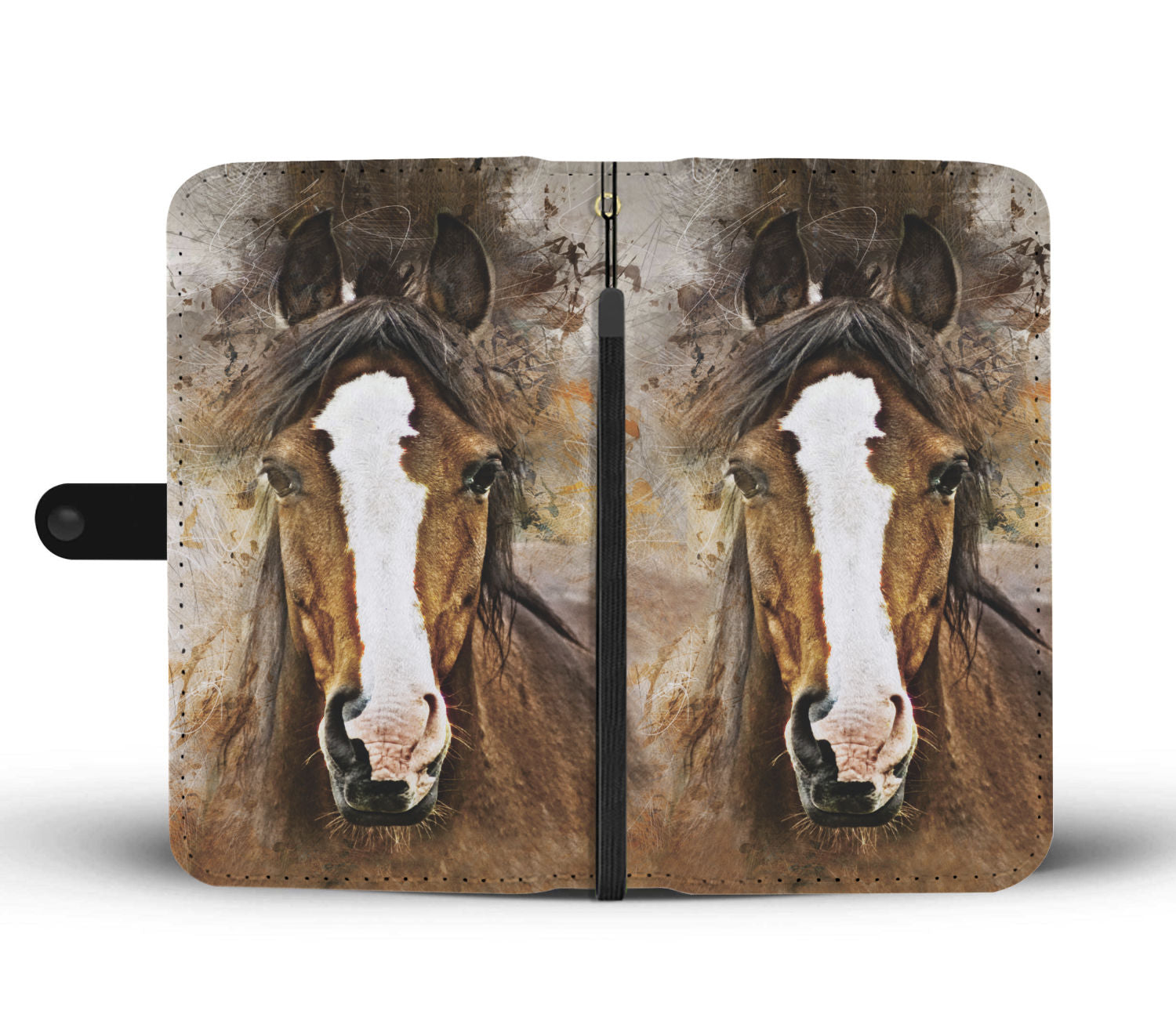 Horse Face Phone Wallet - Hello Moa