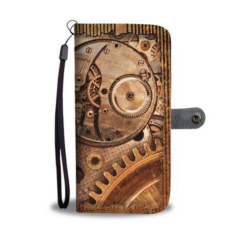 Hidden Cogs Phone Wallet