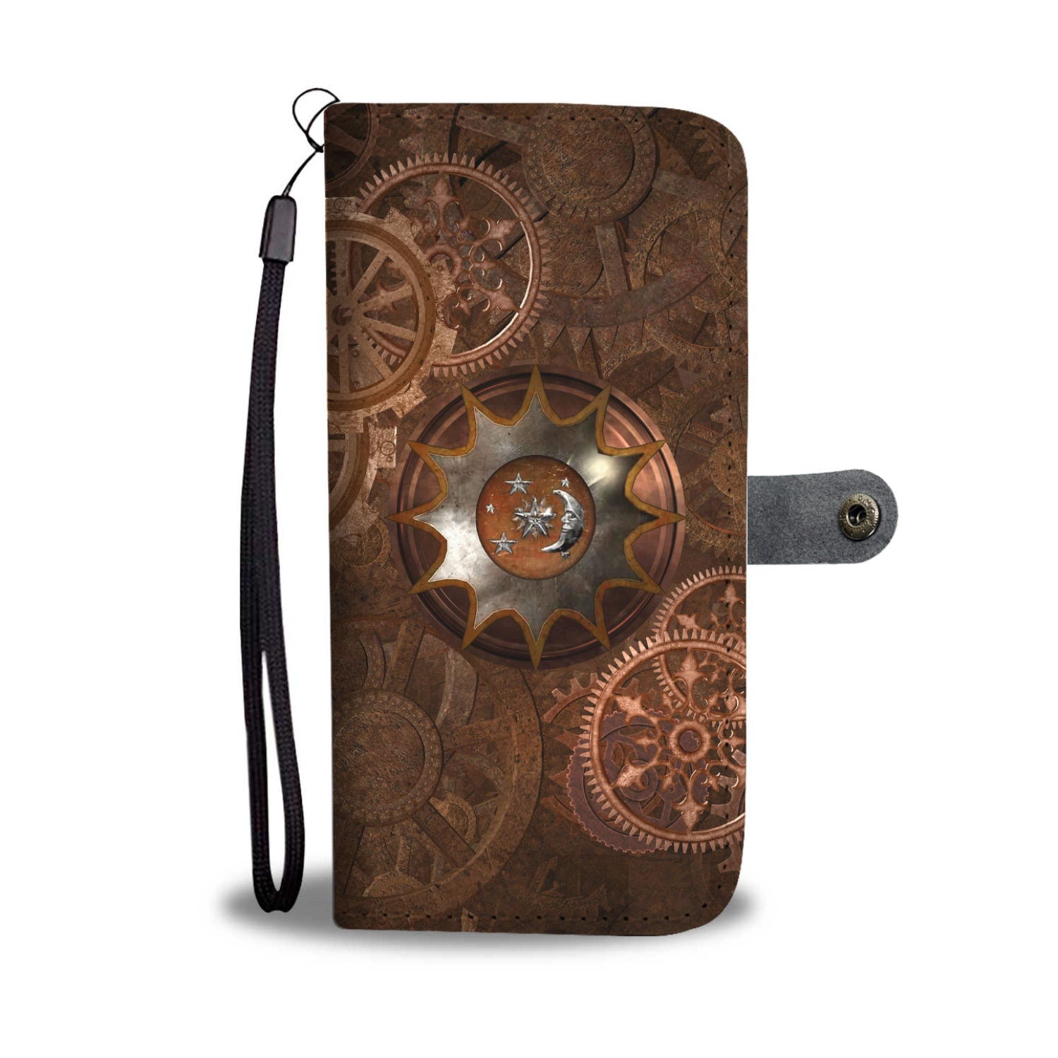 Moon Cogs Phone Wallet - Hello Moa