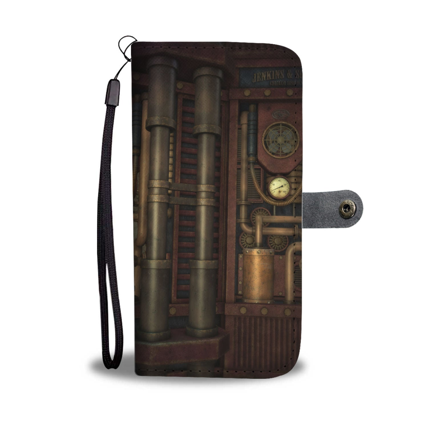 Pipes II Phone Wallet