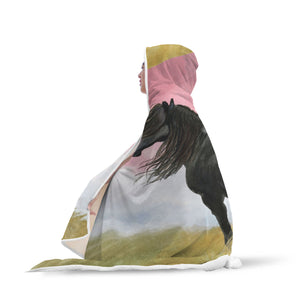Art Horse Hooded Blanket - Hello Moa
