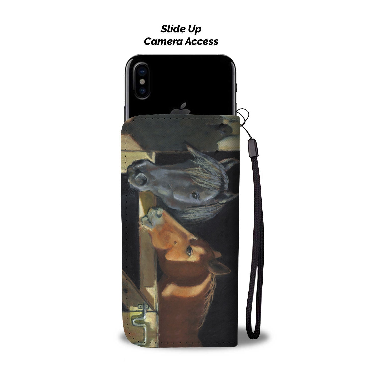 Stable Horse Mates Phone Wallet