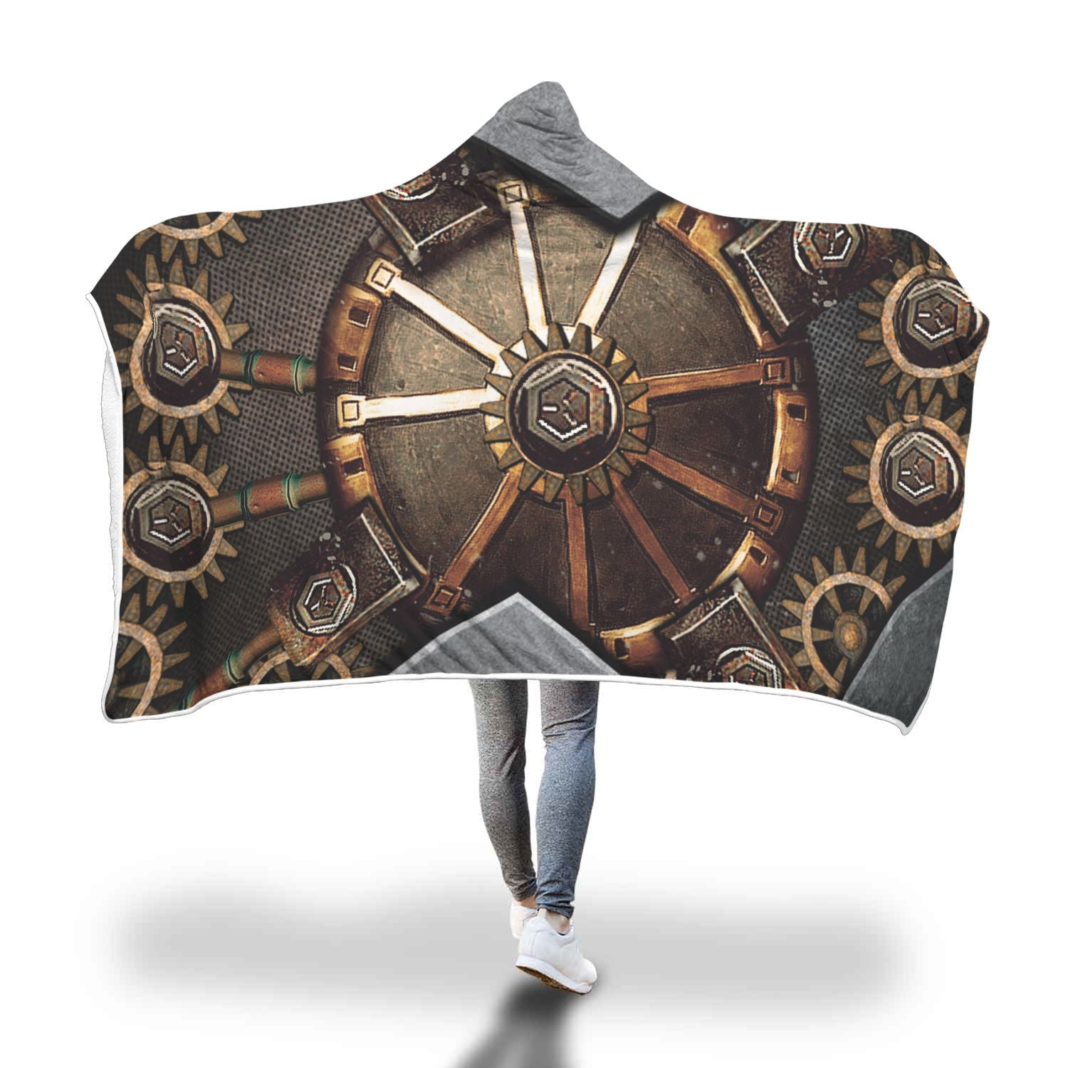 Hidden Gear Hooded Blanket - Hello Moa