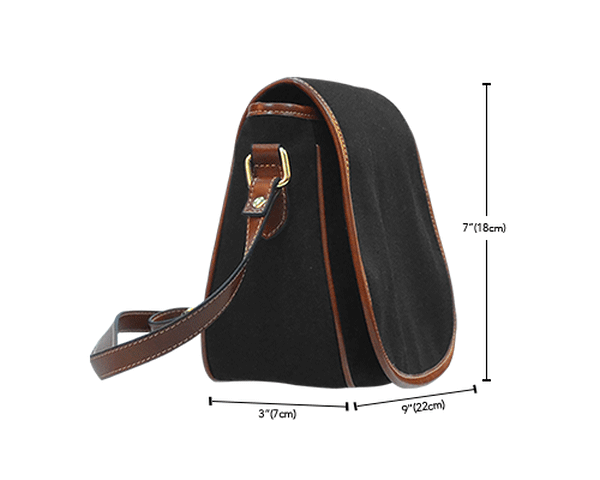 Steampunk Circuit 2 Saddle Bag - Hello Moa
