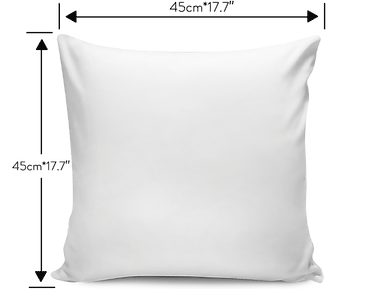 White Skull Pillow Cover - Hello Moa