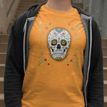 Flower Sugar Skull Tee - Hello Moa