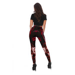 Red Calavera Leggings - Hello Moa