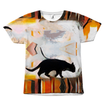 Roof Cat Tee - Hello Moa