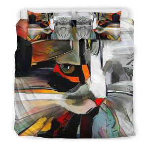 Art Cat Bedding Set