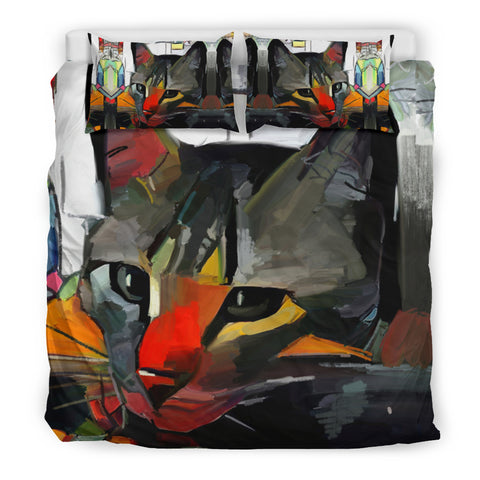 Art Cat II Bedding Set
