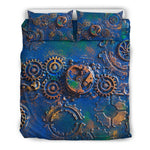 Blue Rust Bedding Set