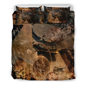 Steampunk Art Bedding Set - Hello Moa