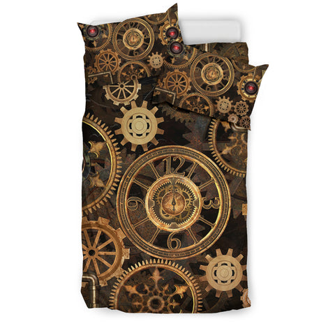 Steampunk Gear Bedding Set