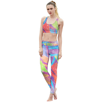 Rainbow Fitness Leggings