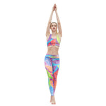 Rainbow Fitness Leggings - Hello Moa