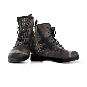 Express Steampunk Brown Boots (Men's) - Hello Moa