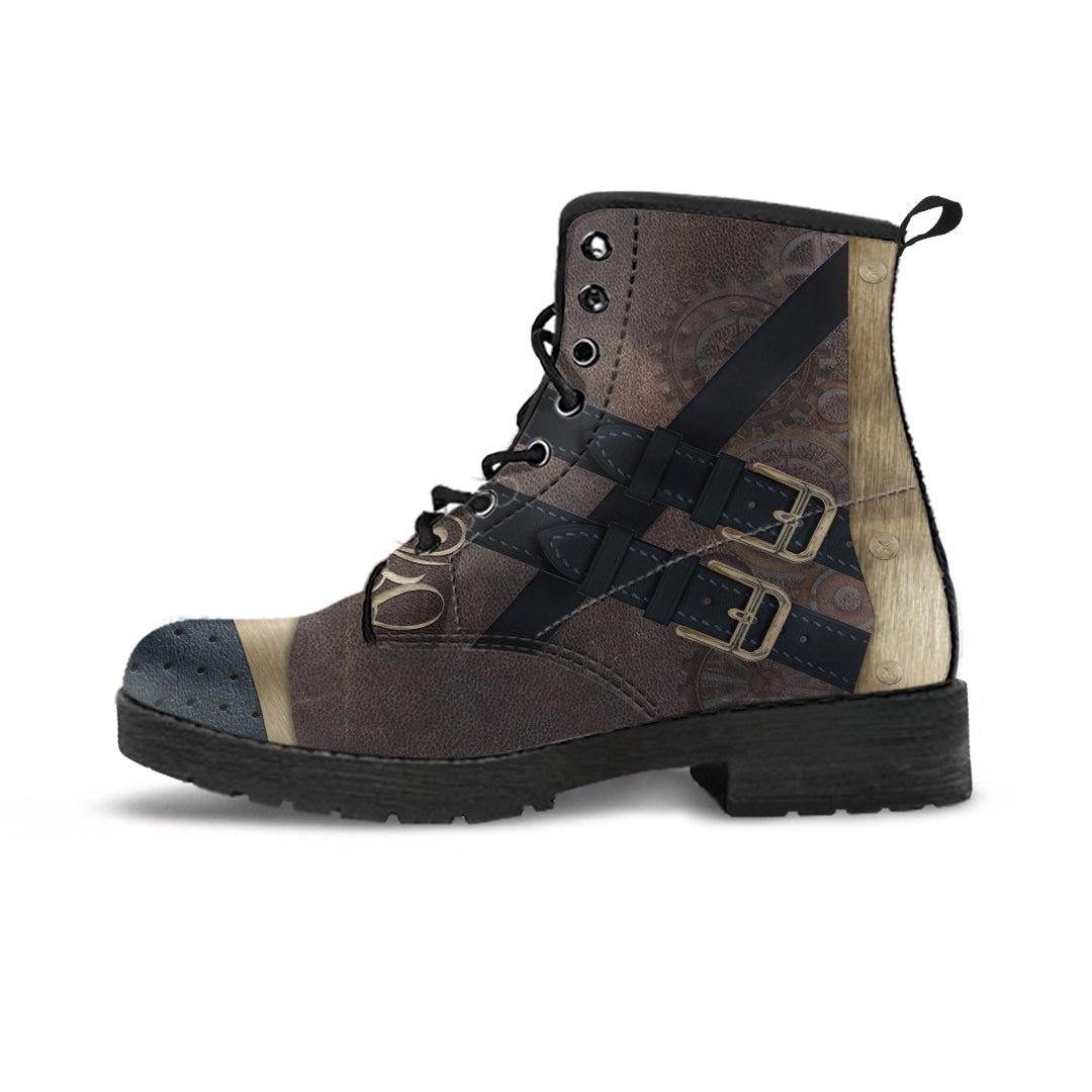 Steampunk Brown Boots (Women's)
