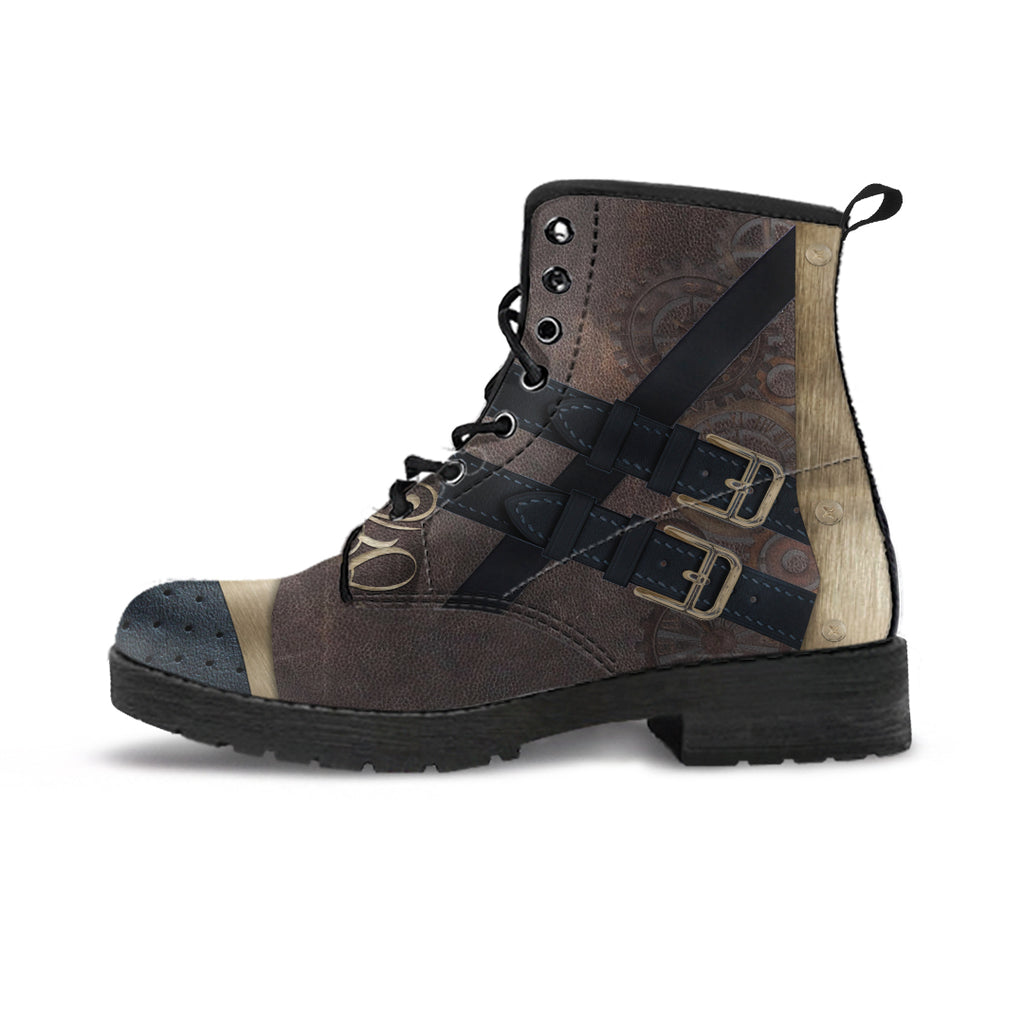 Express Steampunk Brown Boots (Men's)