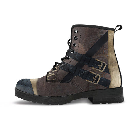 Image of Express Steampunk Brown Boots (Men's)