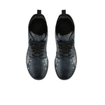 Navy Lace Boots (Women's) - Hello Moa