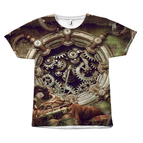 Image of Gears Steampunk Tee