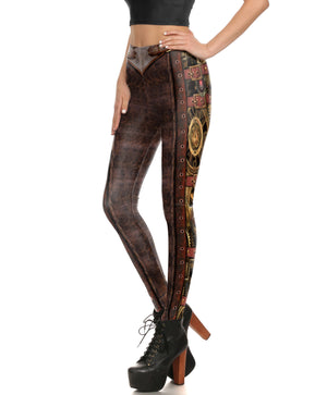 Steampunk Series II Leggings - Hello Moa