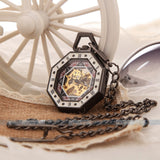 Octagon Pocket Watch