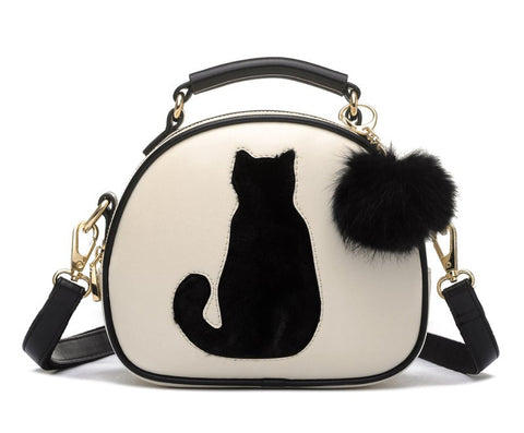 Purr-fect Cat Messenger Bag
