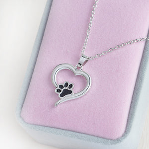 Cat Love Pendant Necklace