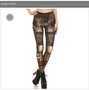 Steampunk Leggings - Hello Moa