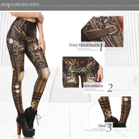 Image of Steampunk Leggings