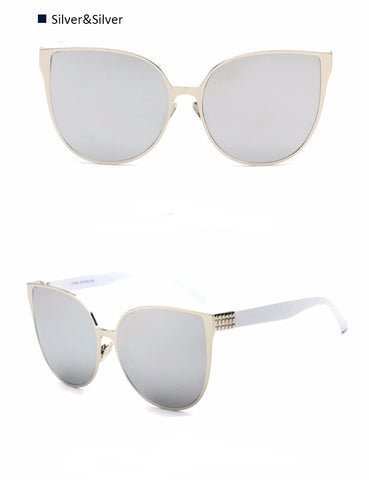 Oversize Cat Eyes Sunglasses