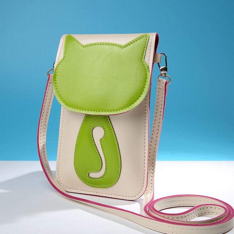 Cute Cat Messenger Bag