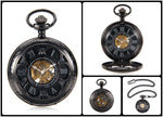 "The ""Mechanical Night"" Pendant/Pocket Watch"