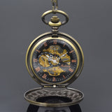 "The ""Steampunk Mechanic""  Pocket Watch"